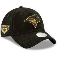 Toronto Blue Jays New Era Women's MLB Armed Forces Day 9TWENTY Adjustable Hat - Camo - OSFA