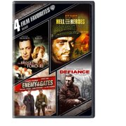 4 Film Favorites: War The Bridges At Toko-Ri   Hell Is For Heroes   Enemy At The Gates   Defiance (Widescreen) by WARNER HOME ENTERTAINMENT