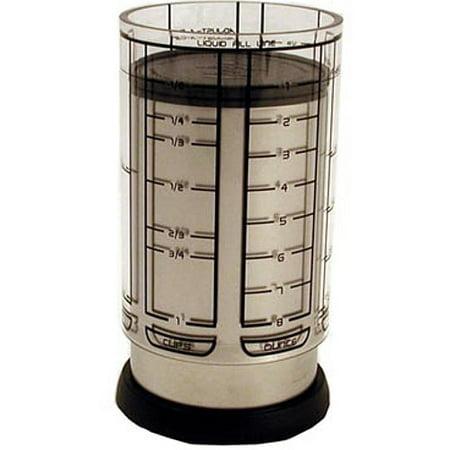 - Fox Run KitchenArt Pro 1 Cup Adjust-A-Cup Measuring Champagne Satin Finish 55250