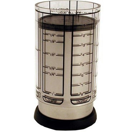 Fox Run KitchenArt Pro 1 Cup Adjust-A-Cup Measuring Champagne Satin Finish 55250