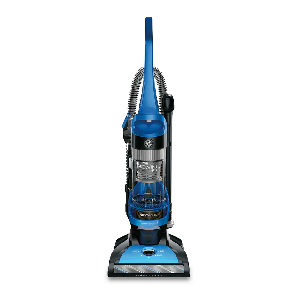 Hoover Elite Rewind Plus Upright Vacuum Cleaner w/ Filter Made with HEPA Media, UH71200