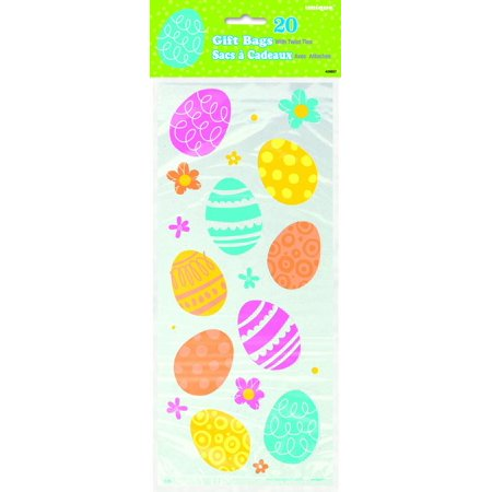 Colorful spring easter sunday eggs candy treats 11 cello bags colorful spring easter sunday eggs candy treats 11 cello bags clear negle Image collections