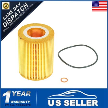 Replacement Oil Filter O-ring Housing Gasket Kit For  E36 E38 E39 Truck Parts E46 E53 E 60 E83 Z3 Z4 X3 X5 325i 530i 525i 11427512300 11421719855 MATCC  US