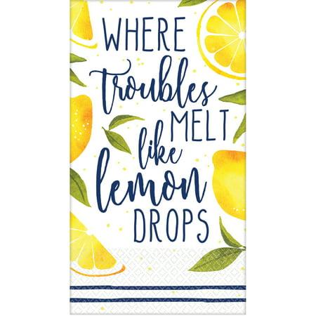 Lemons Guest Towels