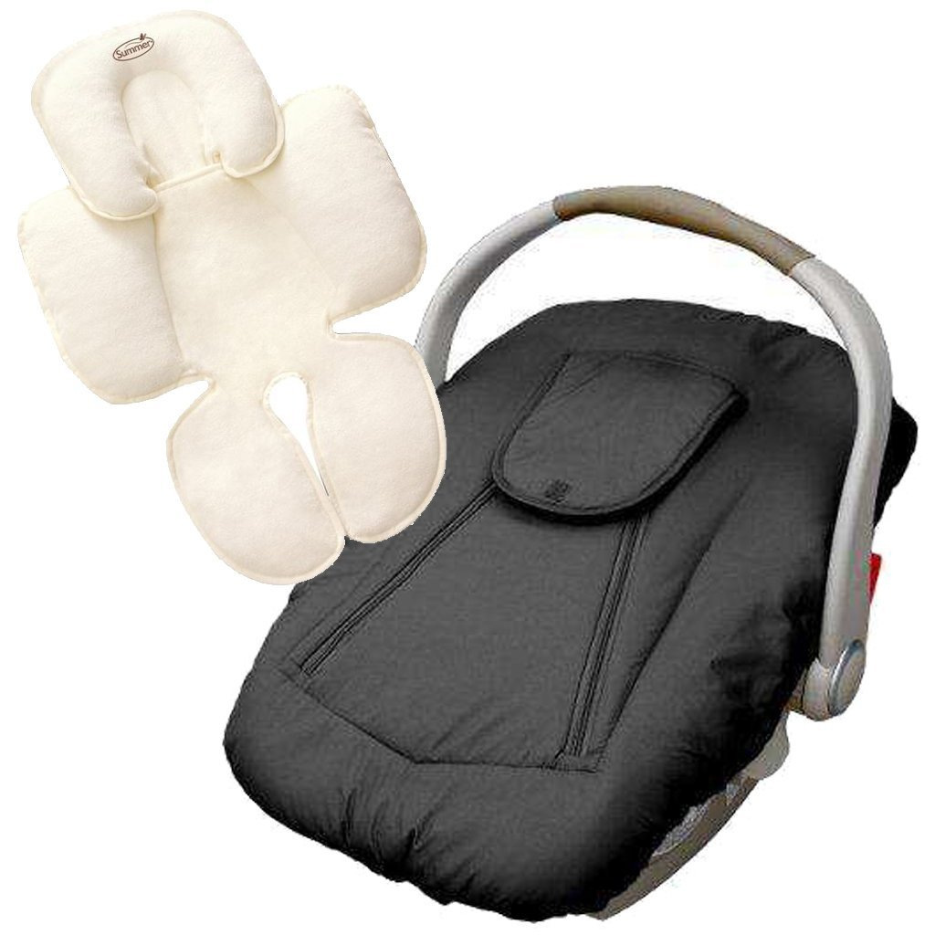 jolly-jumper Deluxe Car Seat Cover with Snuzzler Body Sup...
