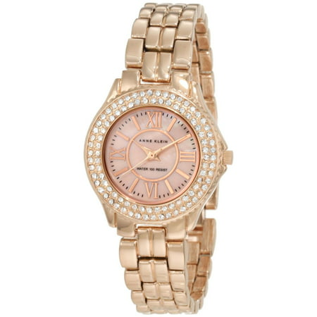 Anne Klein Women's 10-9536RMRG Rose-Gold Stainless-Steel Quartz Fashion Watch