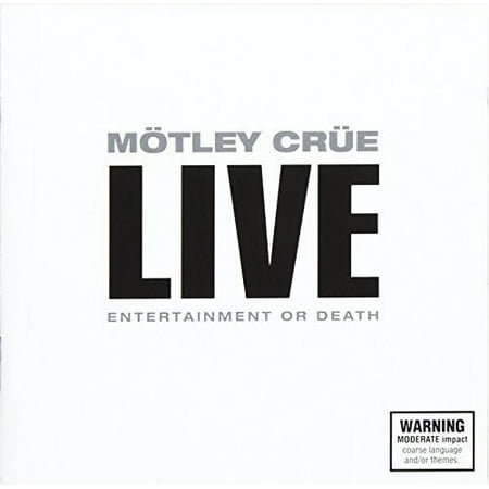 Live: Entertainment or Death (CD) (Death Metal Halloween Music)