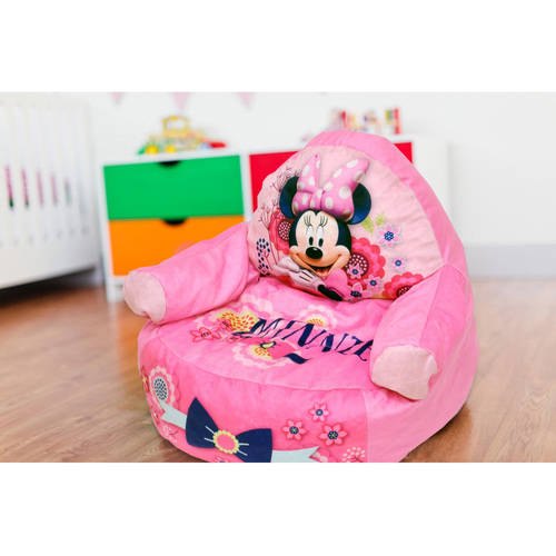 Minnie Mouse Character Figural Toddler Bean Chair by Idea Nuova