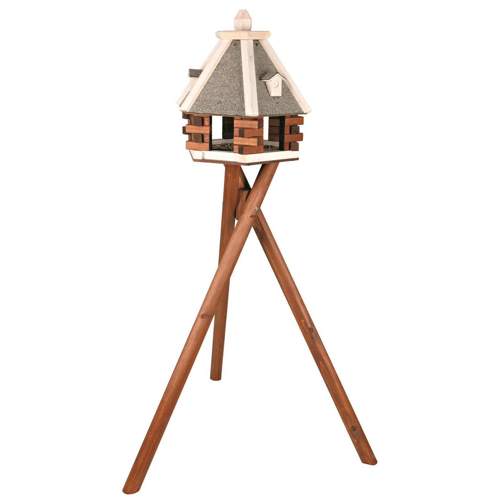 TRIXIE Nordic Wooden Birdfeeder with Stand by Trixie Pet Products