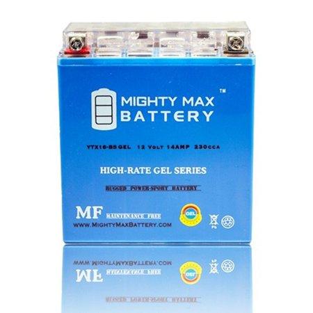 ytx16-bs gel battery for suzuki vs1400gl intruder glp s83 1987-1988