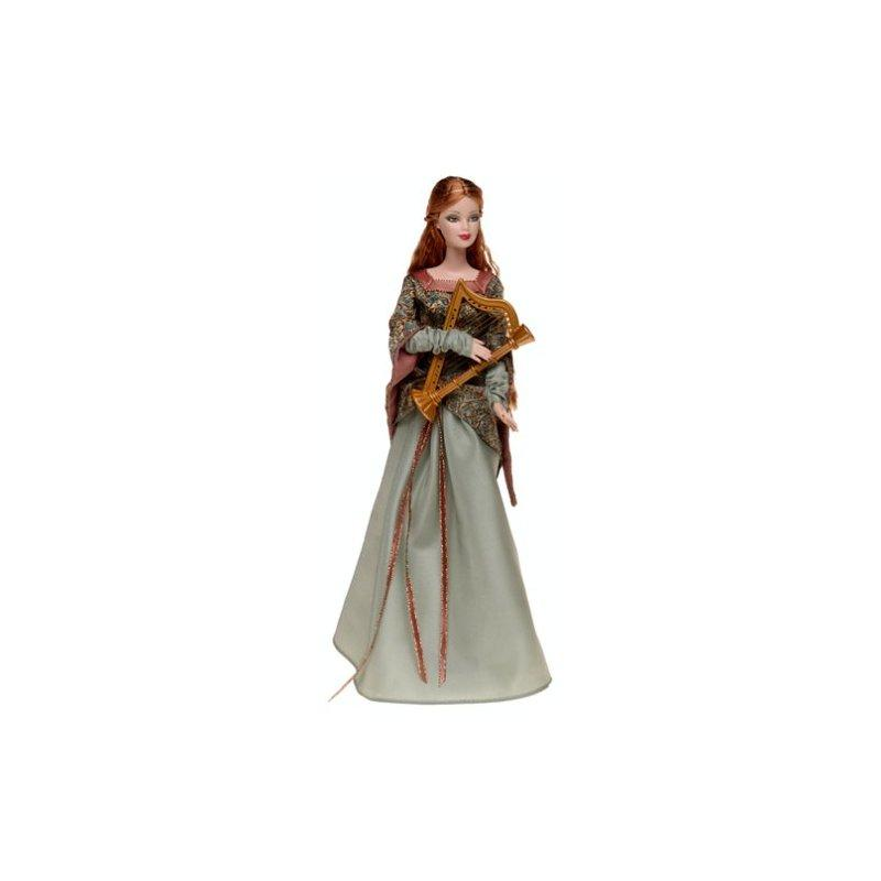 Barbie Legends of Ireland Limited Edition the Bard by Mattel by
