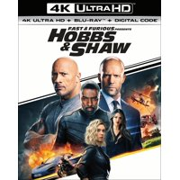 Fast & Furious Presents: Hobbs & Shaw (4K Ultra HD + Blu-ray + Digital Copy)