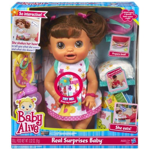 Baby Alive Real Surprises Baby Doll, Hispanic