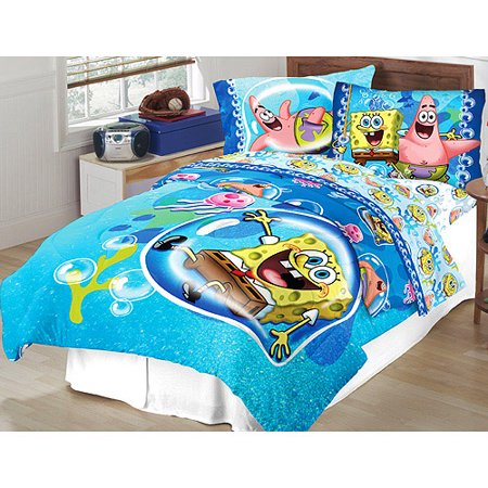 Spongebob Comforter Set With Bonus