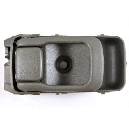 PT Auto Warehouse NI-2903V-LH - Inner Interior Inside Door Handle, Green (Tan) - Driver Side