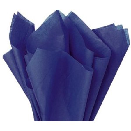 Wrapping Tissue - 100 Sheets DARK BLUE Gift Wrap Pom Pom Tissue Paper 15x20