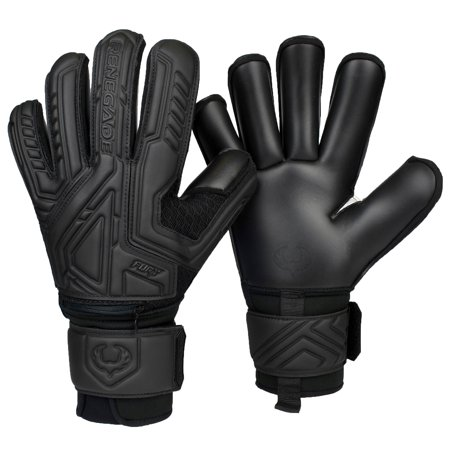 Renegade GK Fury Soccer Goalie Gloves with Removable Pro-Tek Fingersaves - Sizes 7-11, 5 Cuts/Styles - 30 Day 100% Warranty - Unisex, Youth, Junior, Adult