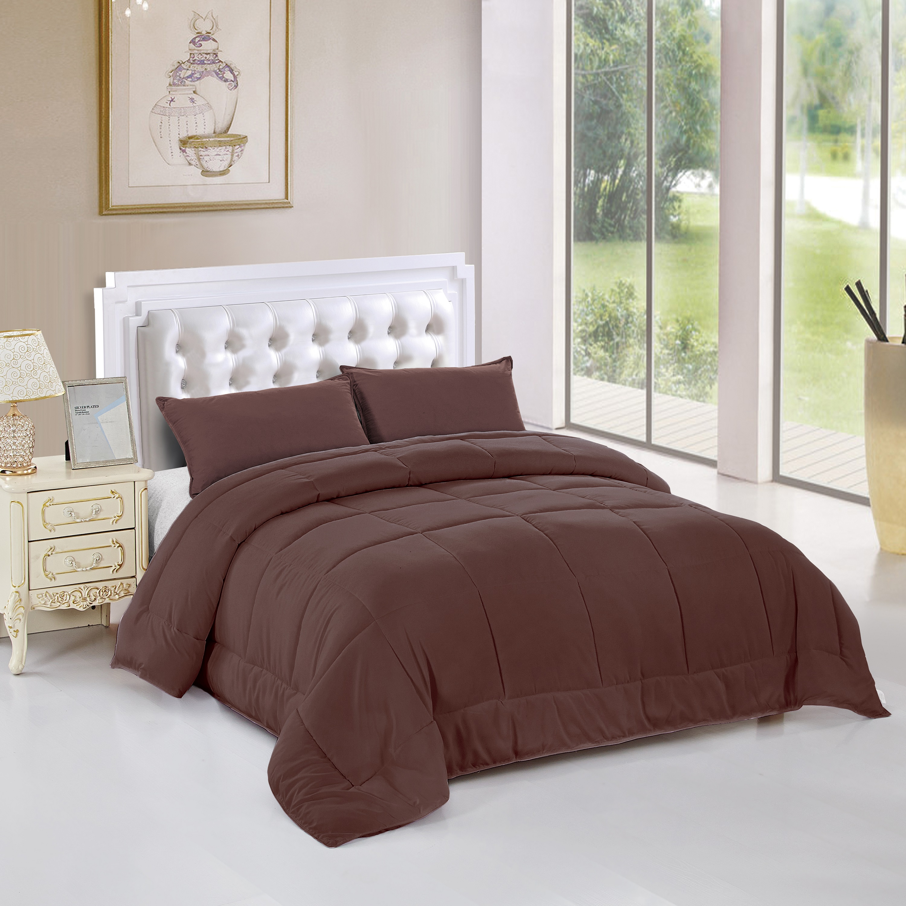 Verno Deluxe Down Alternative 3-Piece Comforter Set