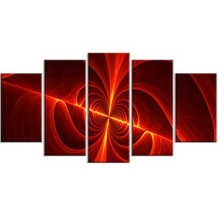 Design Art Red Laser, 5 Pieces, 60