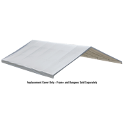 "Shelterlogic Canopy White Replacement Cover for 2-3/8"", Frame FR Rated"