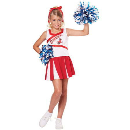 High School Cheerleader Girls - Schoolgirl Costume