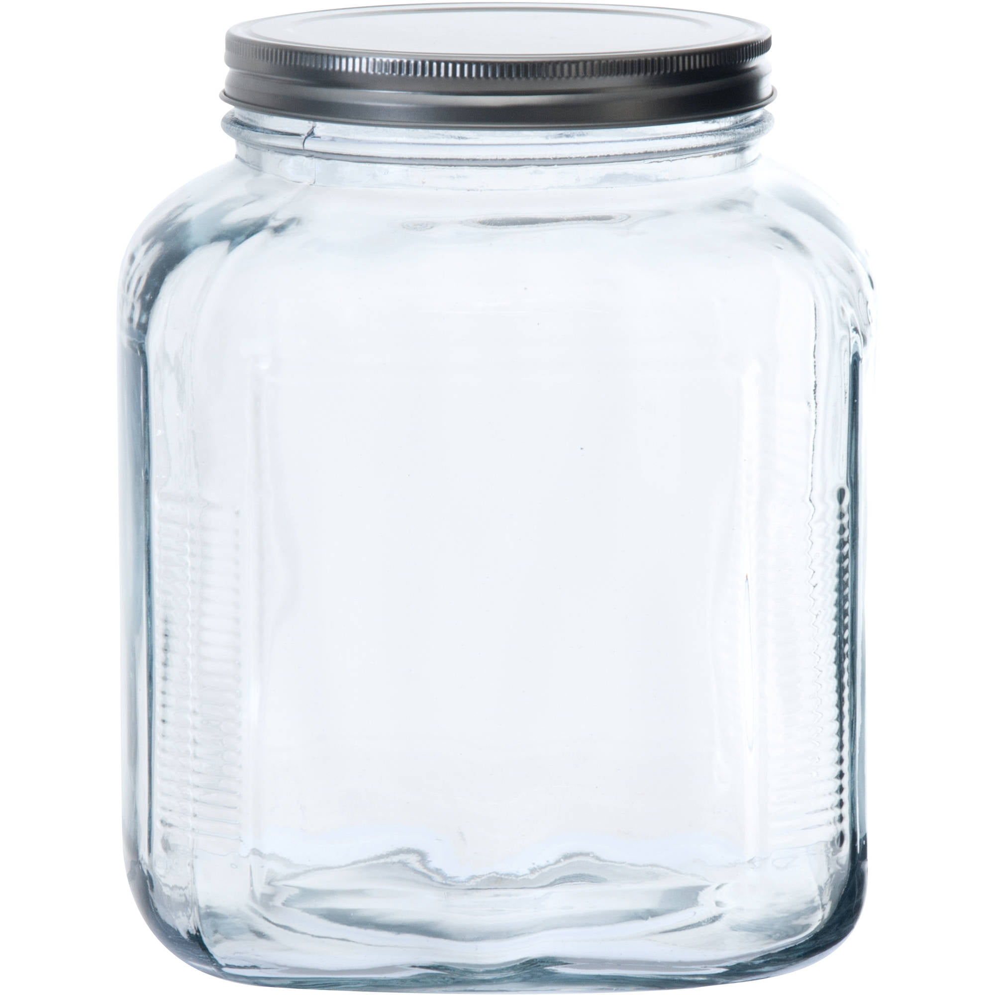glass storage jars anchor hocking 1 gallon cracker jar