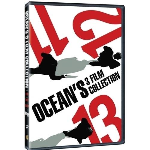 Ocean's 3 Film Collection: Ocean's Eleven (2001) / Ocean's Twelve / Ocean's Thirteen (Widescreen)