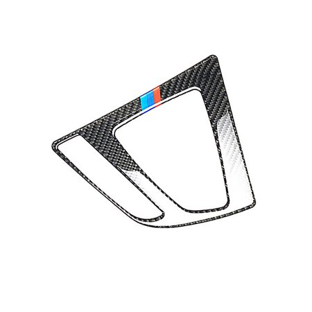 Car Center Control Gear Panel Decoration For BMW 3 Series F30 F34 with Carbon Fiber Sticker Interior Trim