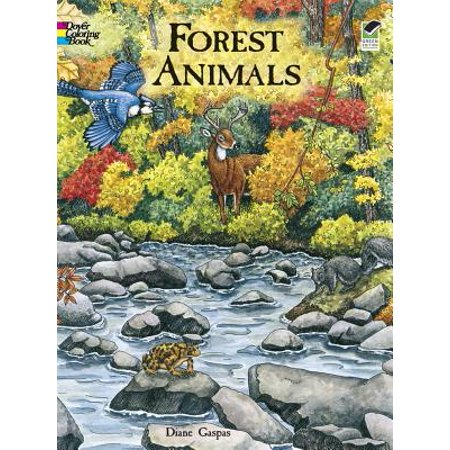 Forest Animals Coloring Book - Coloring Book Of Animals