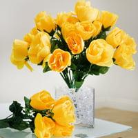 Yellow Artificial Flowers Walmart