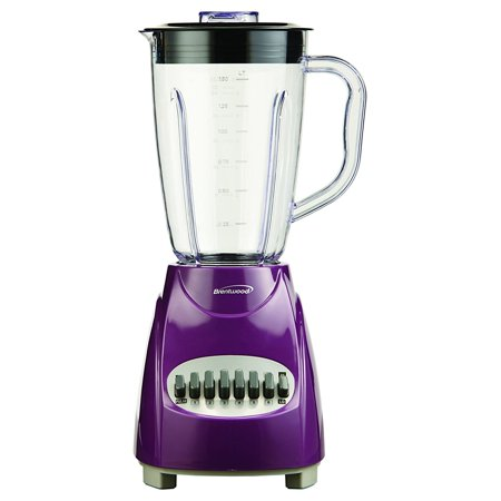 Brentwood 12 Speed Blender Purple (JB-220PR) (Best Blender For Ice Australia)