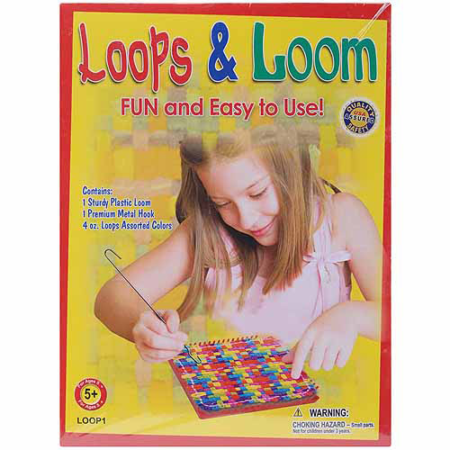 Pepperell Weaving Loops & Loom Kit