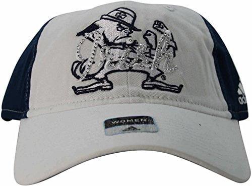 "Notre Dame Fighting Irish Women's ""Bling"" Adjustable Hat Cap by Adidas"