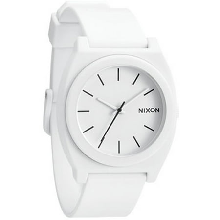 Nixon Men's Time Teller A1191030 White Polyurethane Analog Quartz Fashion Watch