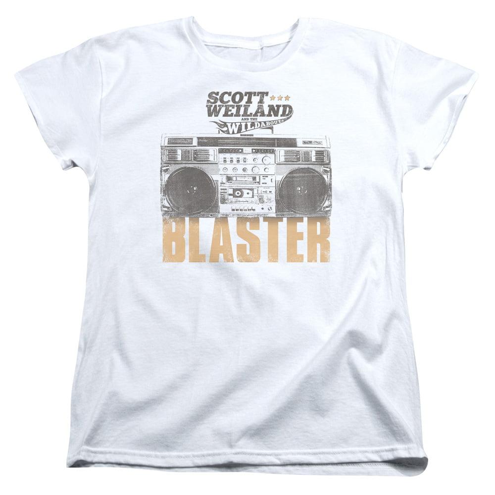 Scott Weiland Blaster Womens Short Sleeve Shirt