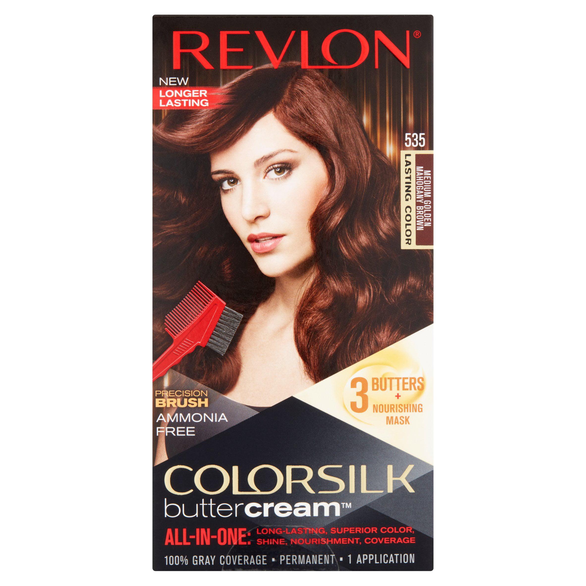 Revlon Colorsilk Buttercream 50 41n Medium Natural Brown Haircolor
