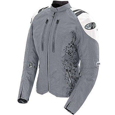(Joe Rocket Atomic 4.0 Womens Textile Jacket Silver/White)