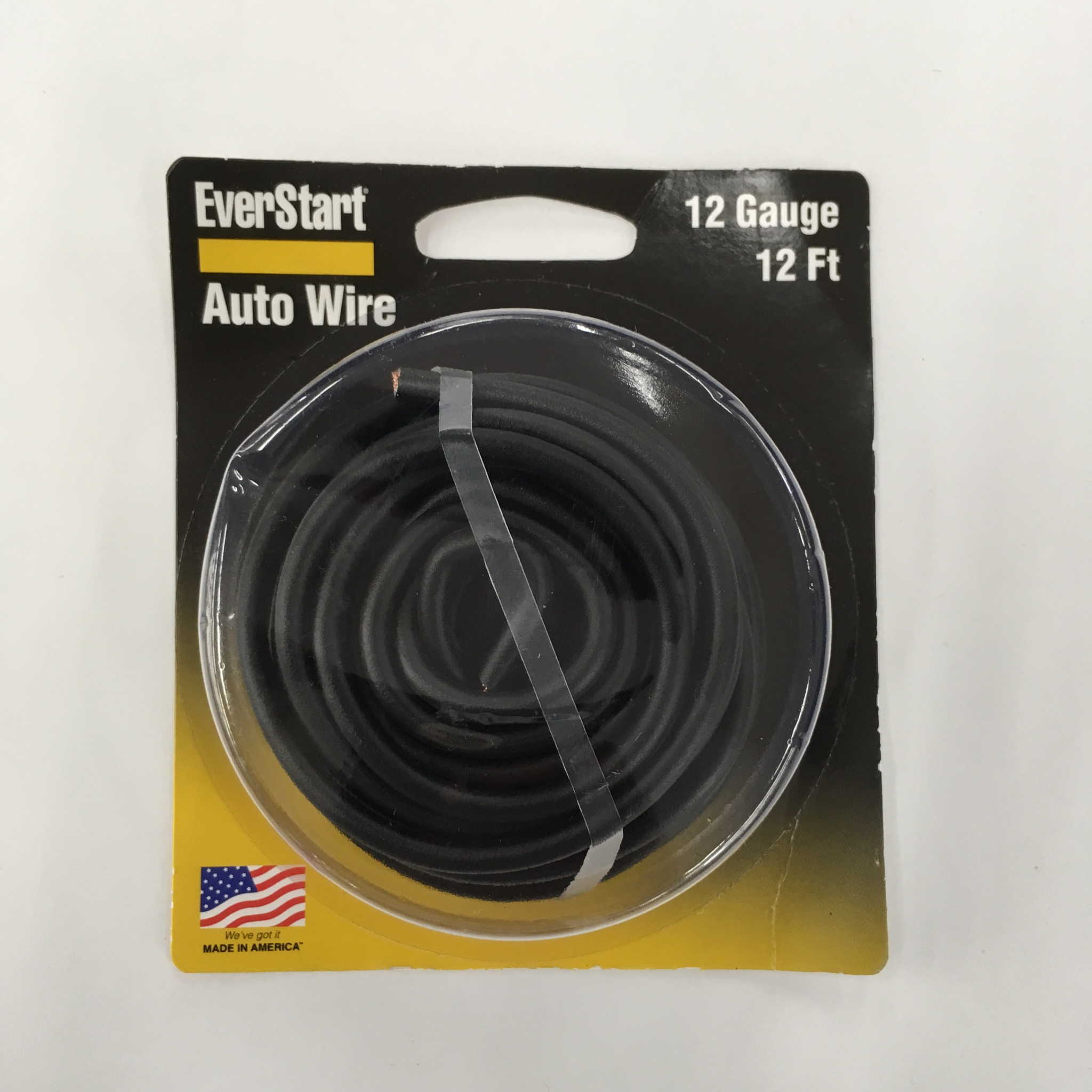 Everstart Primary Wire Gpt 12 Gauge / 12 Foot Blac