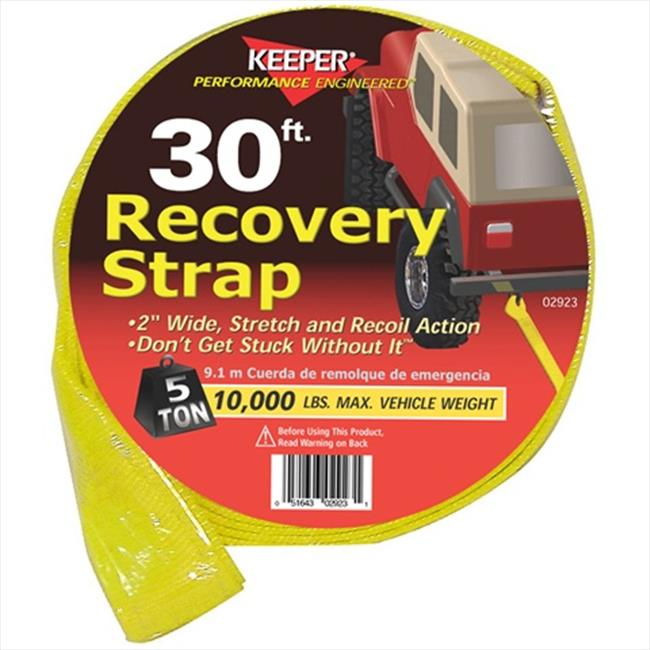 HAMPTON PROD 2923 30 Ft.  X 2 inch Vehicle Recovery Strap