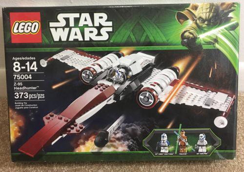 Lego Star Wars Z-95 Headhunter Starfighter Spaceship w  3 Minifigures | 75004 by Lego
