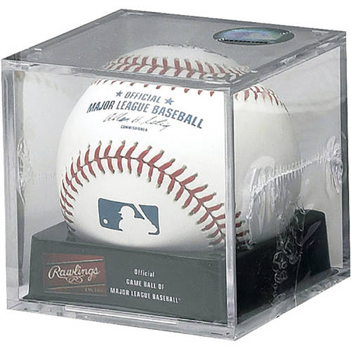 Rawlings Baseball Official MLB Baseball w/Display Cube (Singles) ROMLB-R