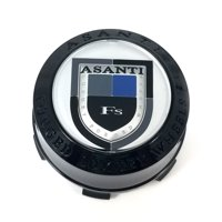 ASA Asanti Forged Luxury Wheels Gloss Black Wheel Center Hub Cap PV CAP LEXANI