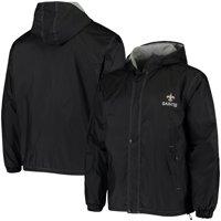 New Orleans Saints Legacy Stadium Full-Snap Hoodie Jacket - Black