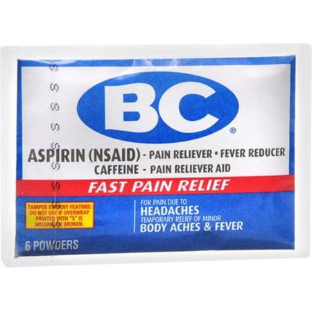 Bc Original Formula Pain Relief Powders 6 Each  Pack Of 6