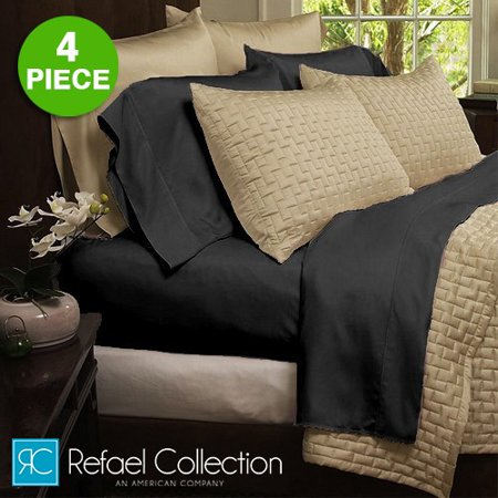 4-piece Set: The Original Best Bambooâ ¢ Hotel Organic Bed Sheets by Refael Collection