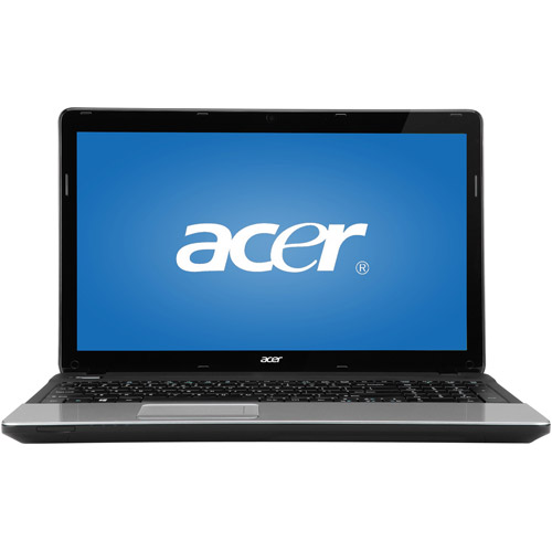 """Acer Black 15.6"""" Aspire E1-531-10004G50Mnks Laptop PC with Intel Celeron 1000M Processor and Windows 8 Operating System"""