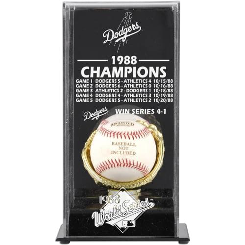 Los Angeles Dodgers Fanatics Authentic 1988 World Series Champions Baseball Display Case - No Size