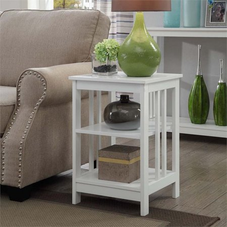 Pemberly Row End Table in White - image 2 de 3