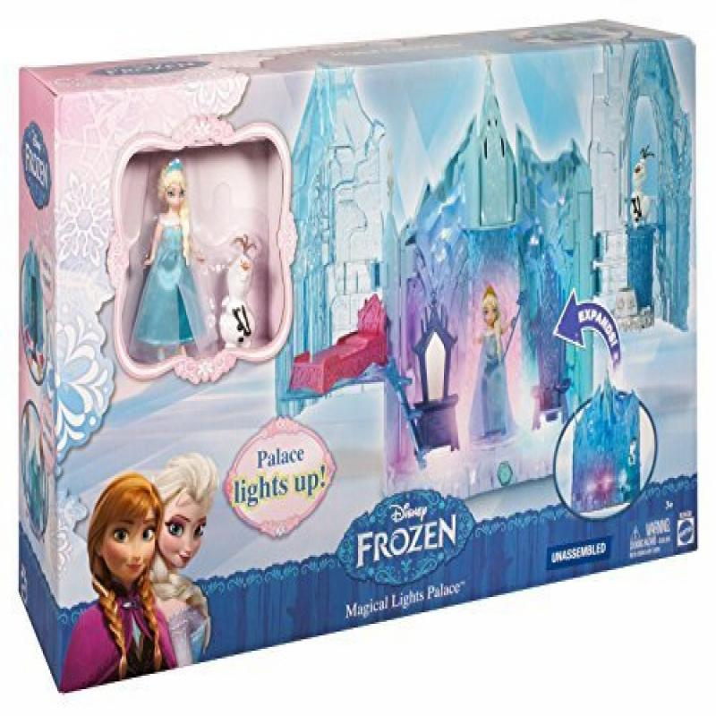 Disney Frozen Small Doll Elsa and Magical Lights Palace Exclusive Playset