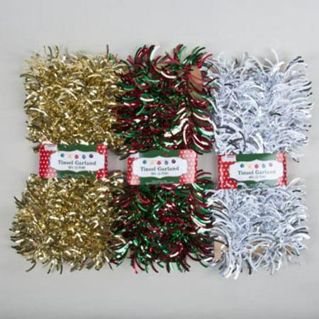 Bulk Christmas Garland.Bulk Buys Christmas Garland Felt Laser Cut Garland Case Of 72